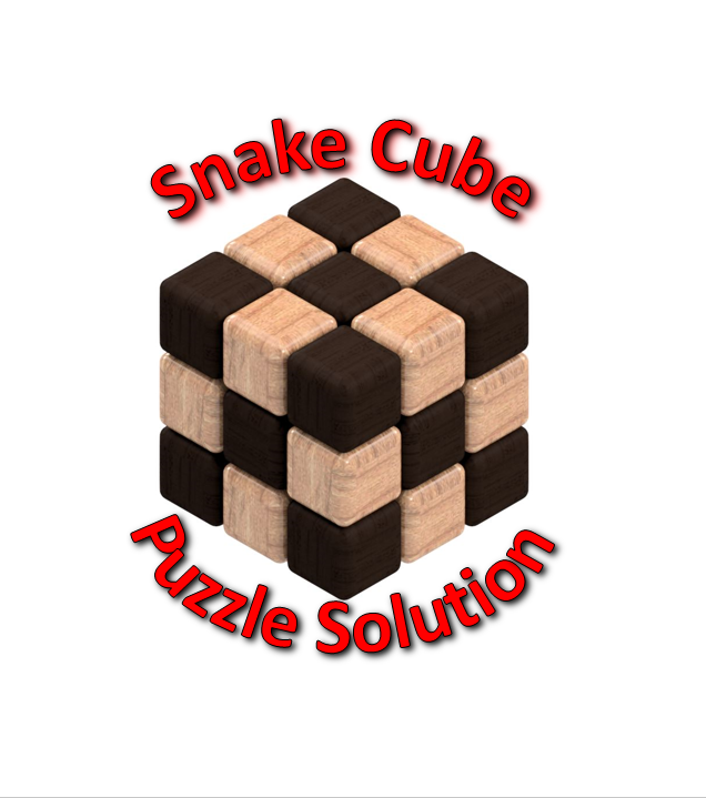 Snake Cube Puzzle Solution 16 Steps With Pictures
