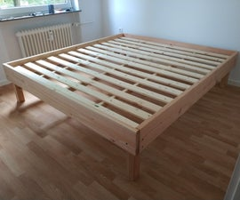 Robust and Inexpensive Bed Frame