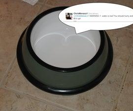 Tweeting Pet Bowl