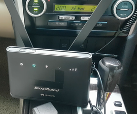 Take Your Home WiFi With You in the Car