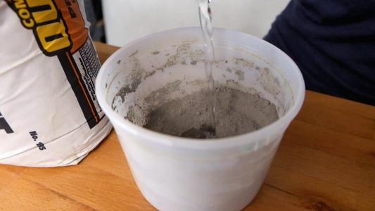 Mix and Pour Concrete