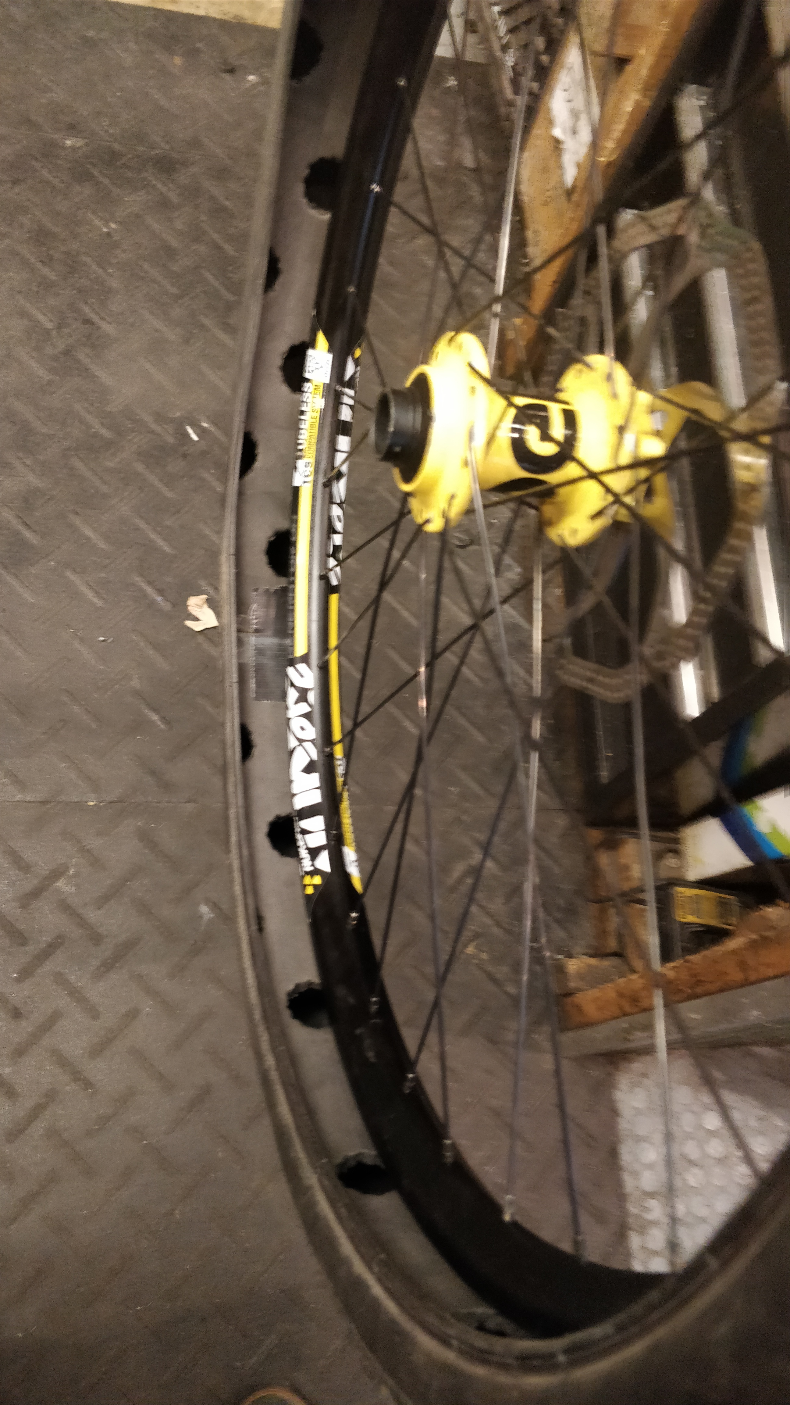 """Picture of Homemade """"huck Norris '' for Mountain Bike"""