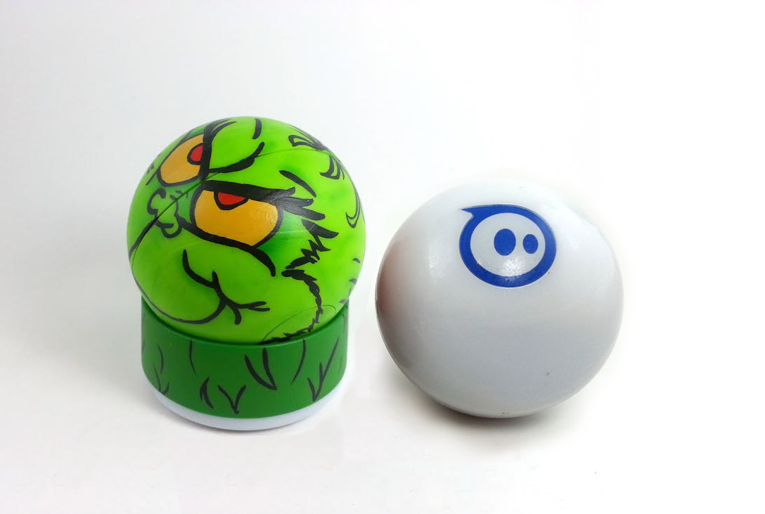 Picture of DIY Custom Painted Grinch Sphero