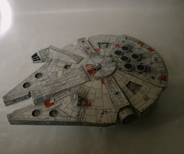 Papercraft (star wars and battlestar galactica)
