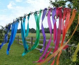 Silk Rainbow Ribbons