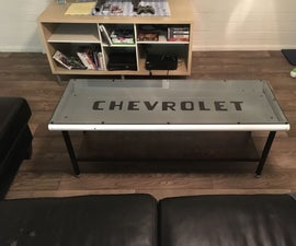 Tailgate Coffee Table