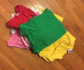 Reusing Old T-Shirts to Make into a Hotpad