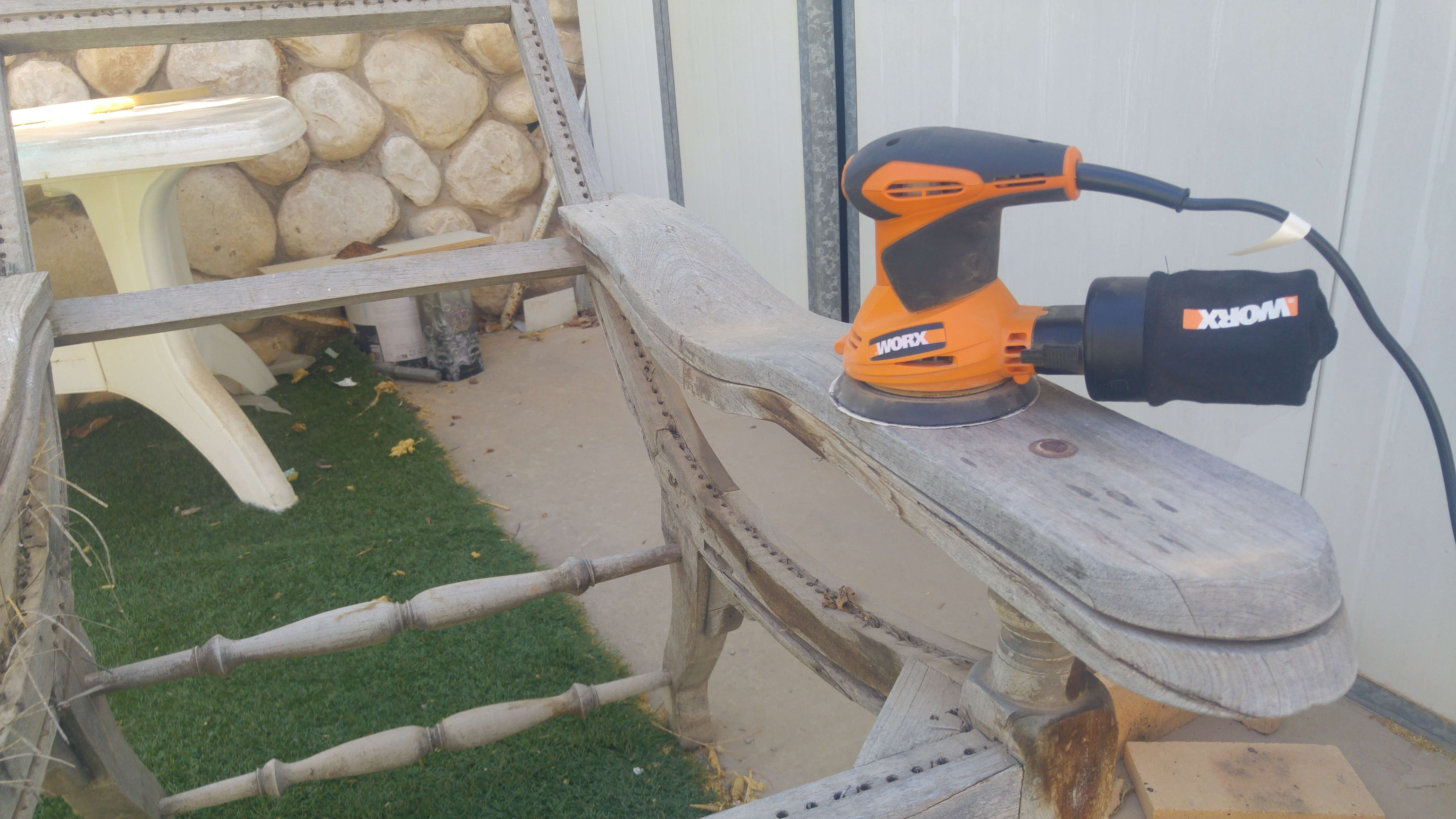 Picture of Sanding... (a Lot)
