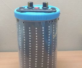 LIGHT BOX - a portable speaker with vu meter