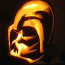 Make a spooky Darth Vader Pumpkin!
