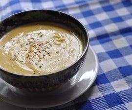 How To Make Roasted Pumpkin Soup | Fall Vegan Recipe