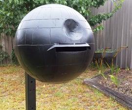 How to Make a Death Star Mailbox