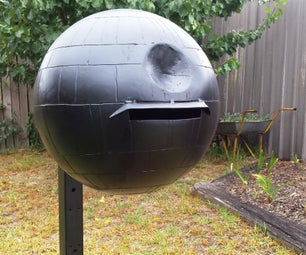 How to Make a Death Star Mailbox