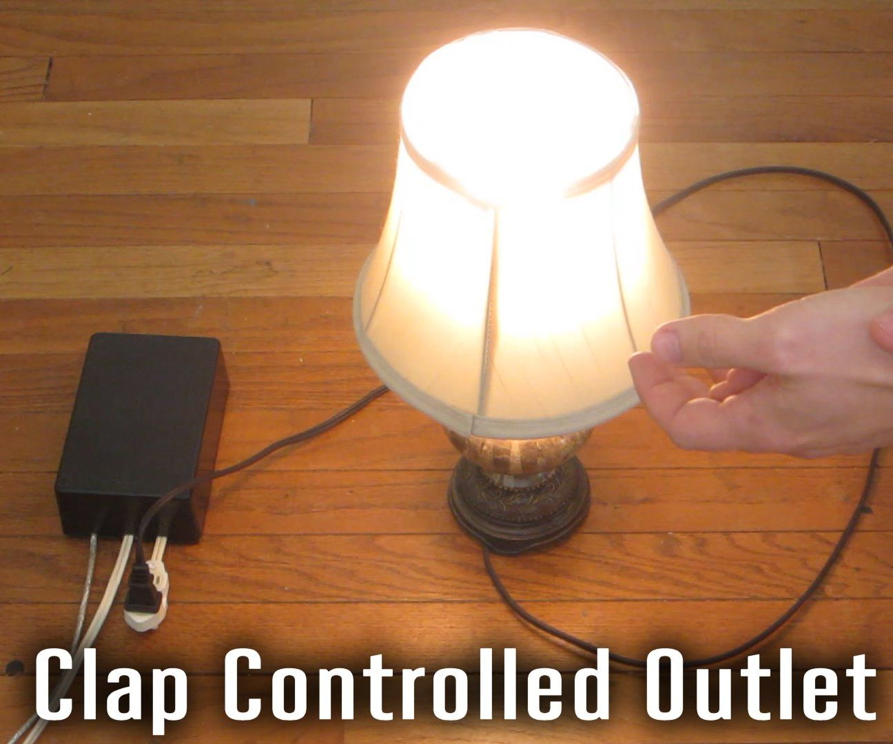 Sound Activated Outlet  Steps With Pictures - Clap sensitive on off relay