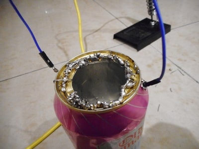 Solder a Jumper Wire (a.k.a Handle) to the Holes