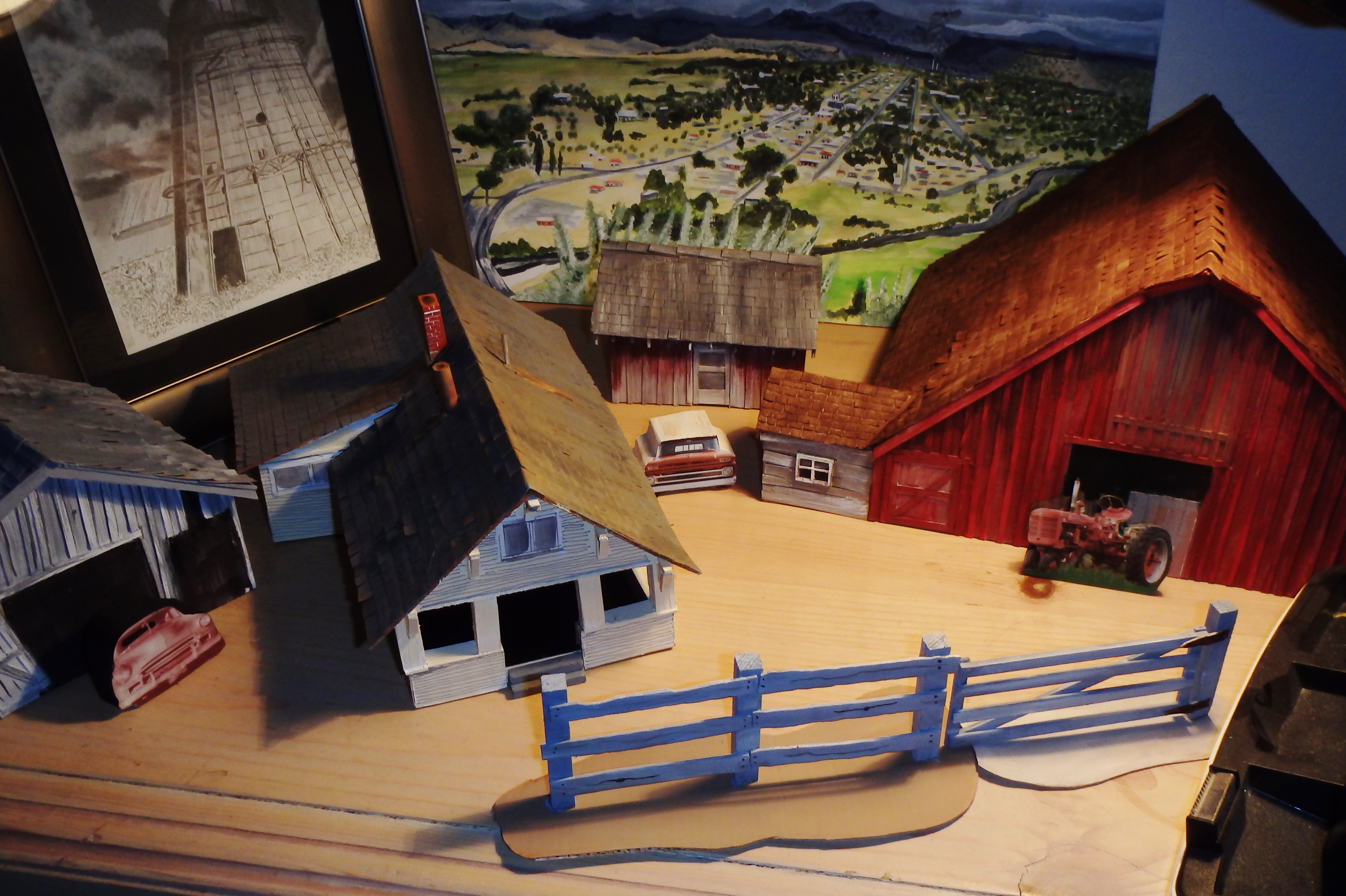 Picture of A Diorama:The Ranch at Grizzly Flats