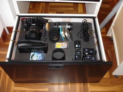 IKEA HACK - Camera Gear Drawer
