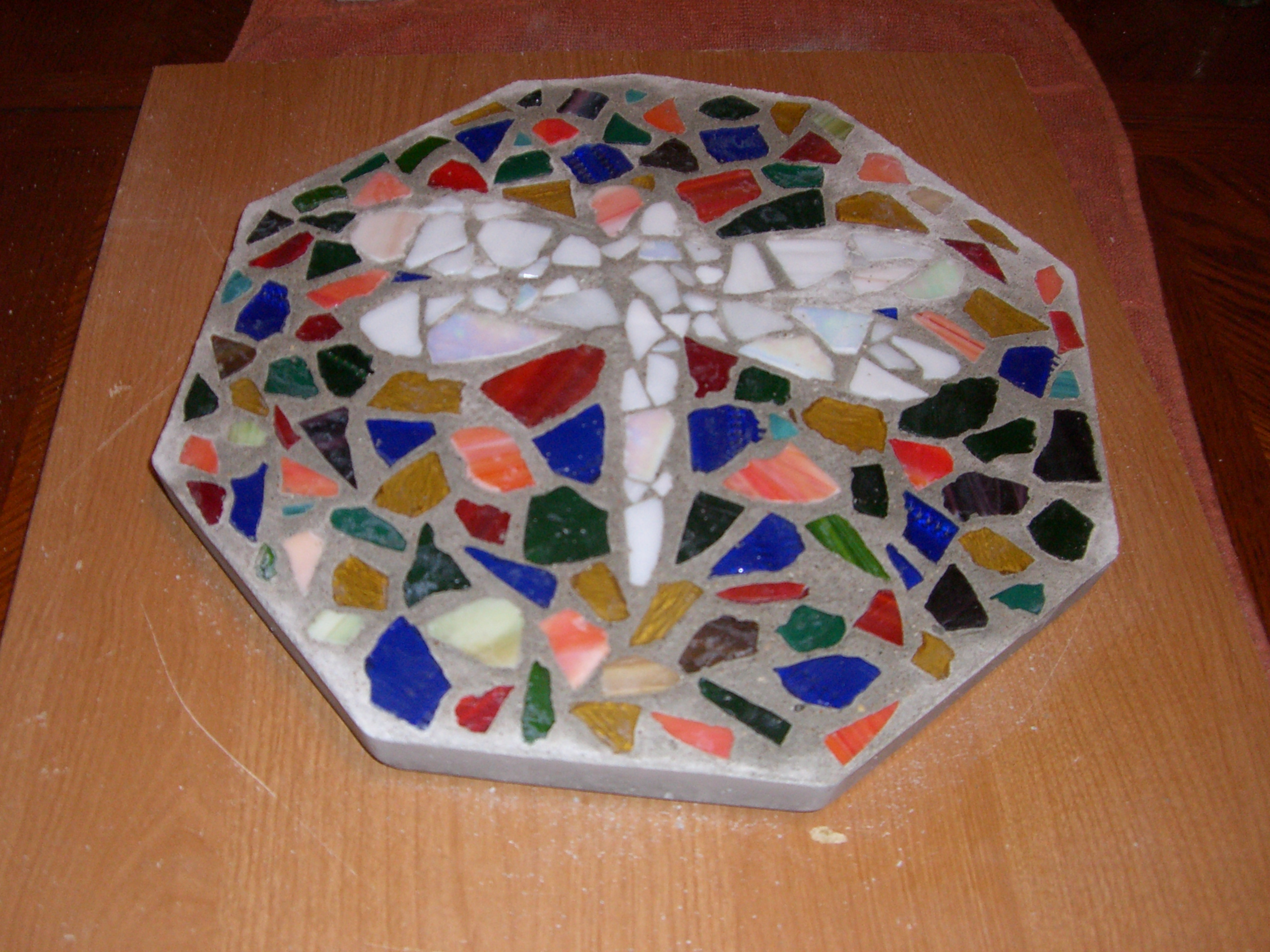 Picture of Mosaic Stepping Stones for Your Garden