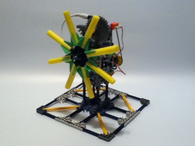 LittleBits K'nex Kinetic Interactive Sculpture