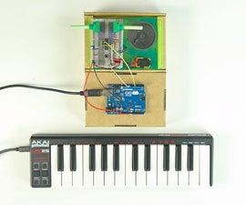 DIY Synth + MIDI controller