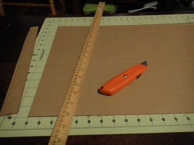 Measure Twice, Cut Once.  or Just Trace Lazily, and Wing It.  Cardboard Is Free.