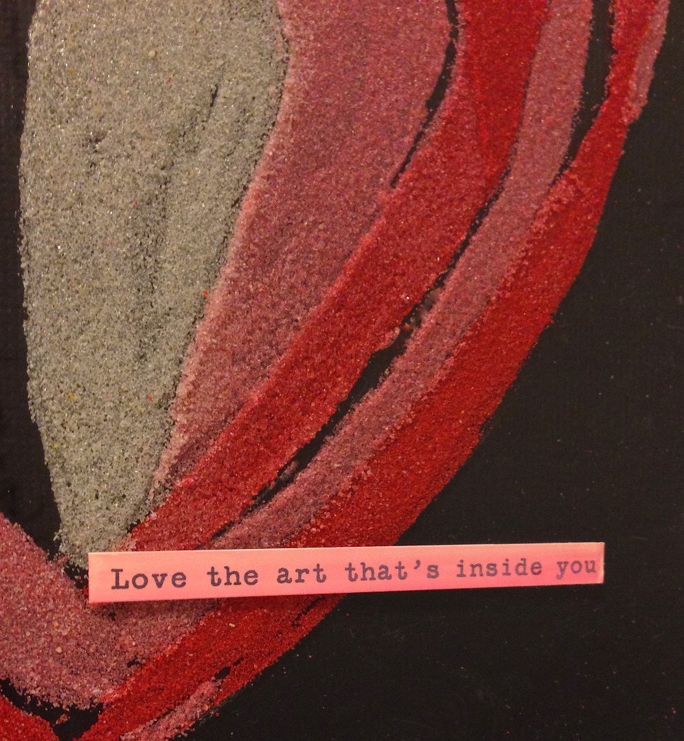 Picture of Art With Heart - Sand Painting by Lisa Fulmer for ACTIVA Products
