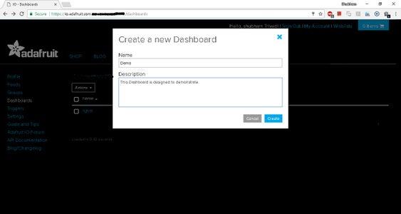 Create Dashboard