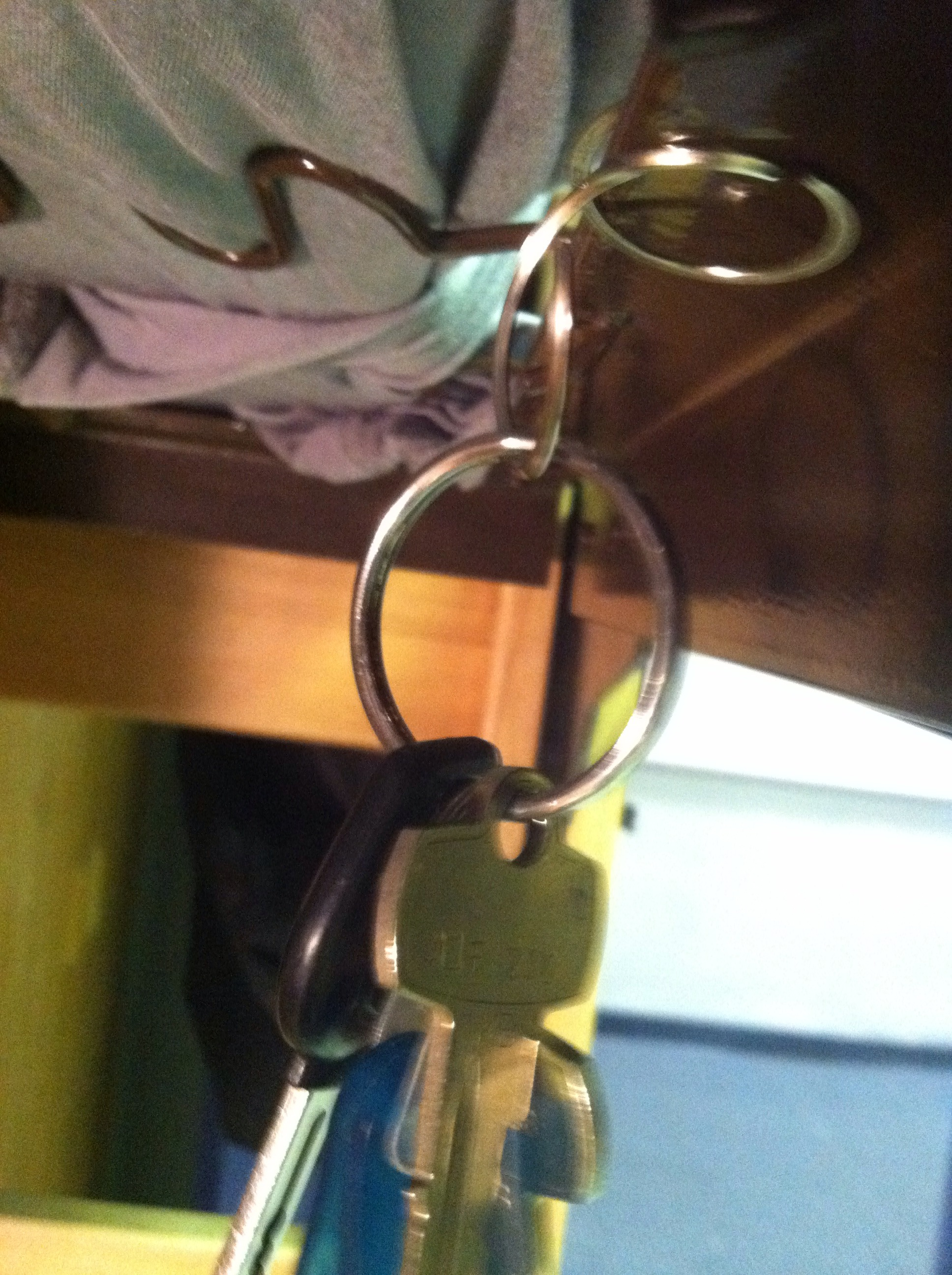 Picture of Keyring Hook
