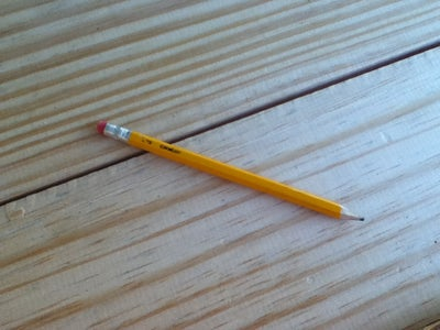 The Mighty Pencil.