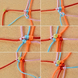 Braid the Nylon Threads