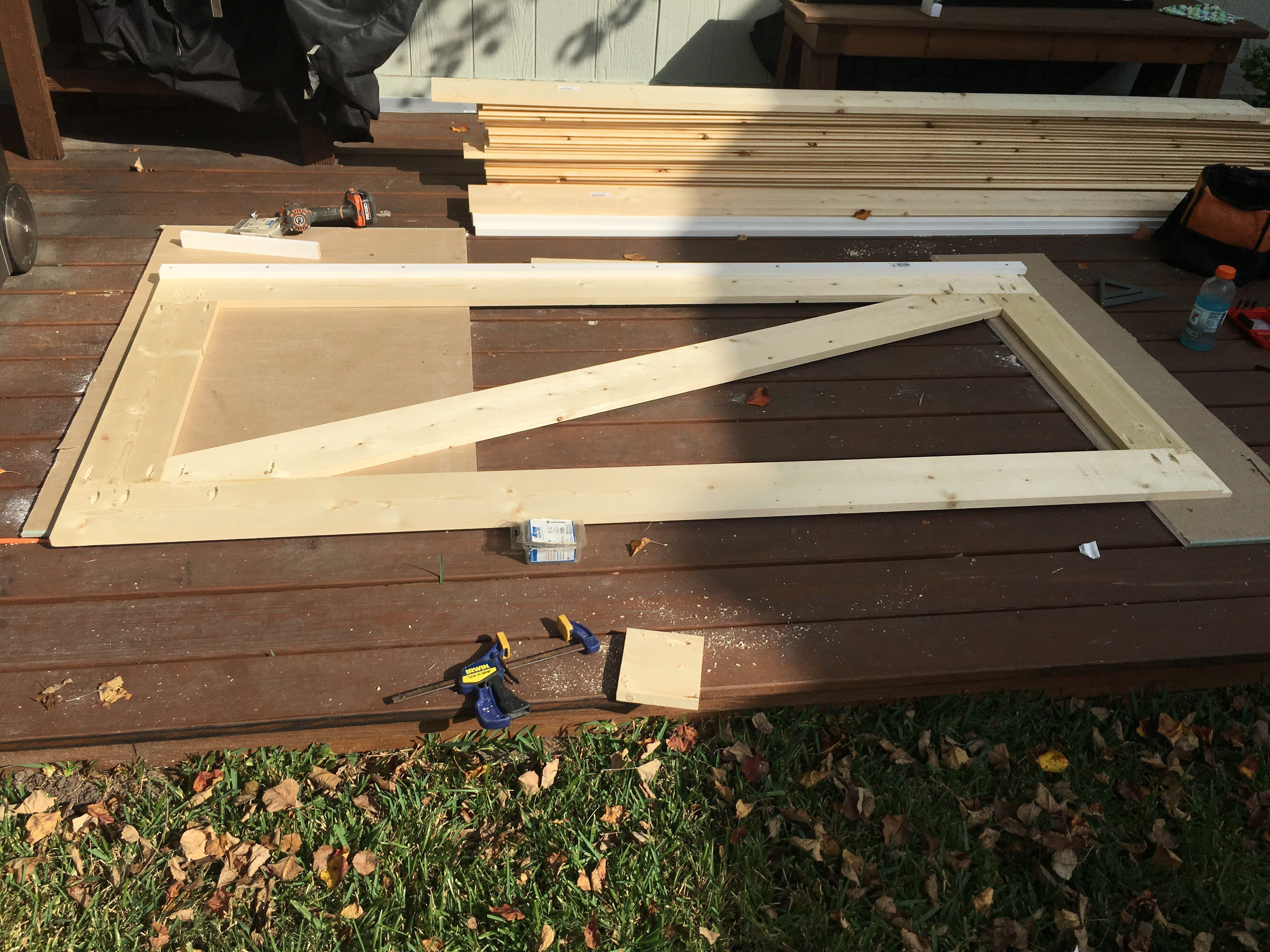 Picture of Assemble the Door Frame