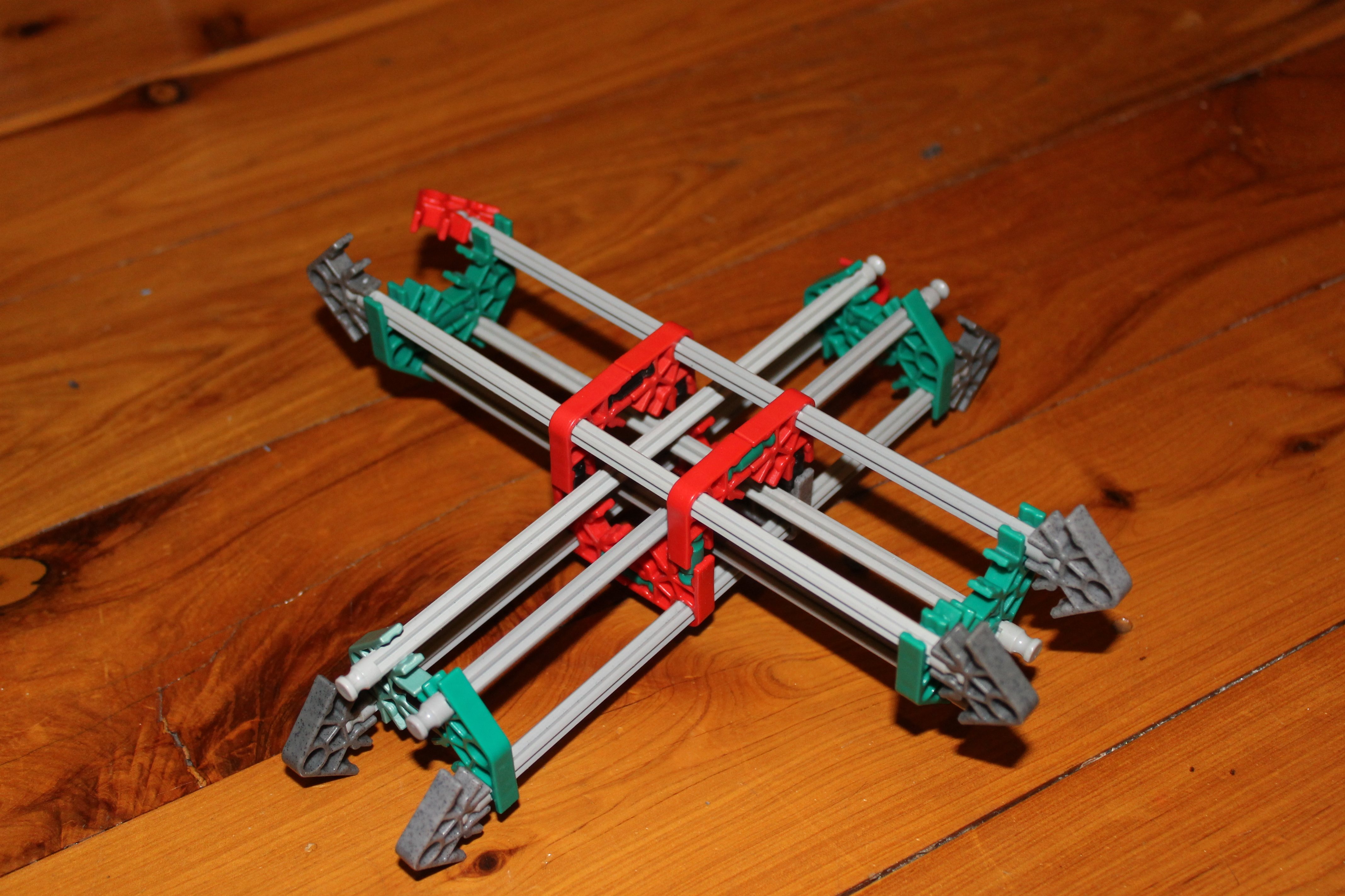 Picture of K'nexRap 3D Printer Prototype