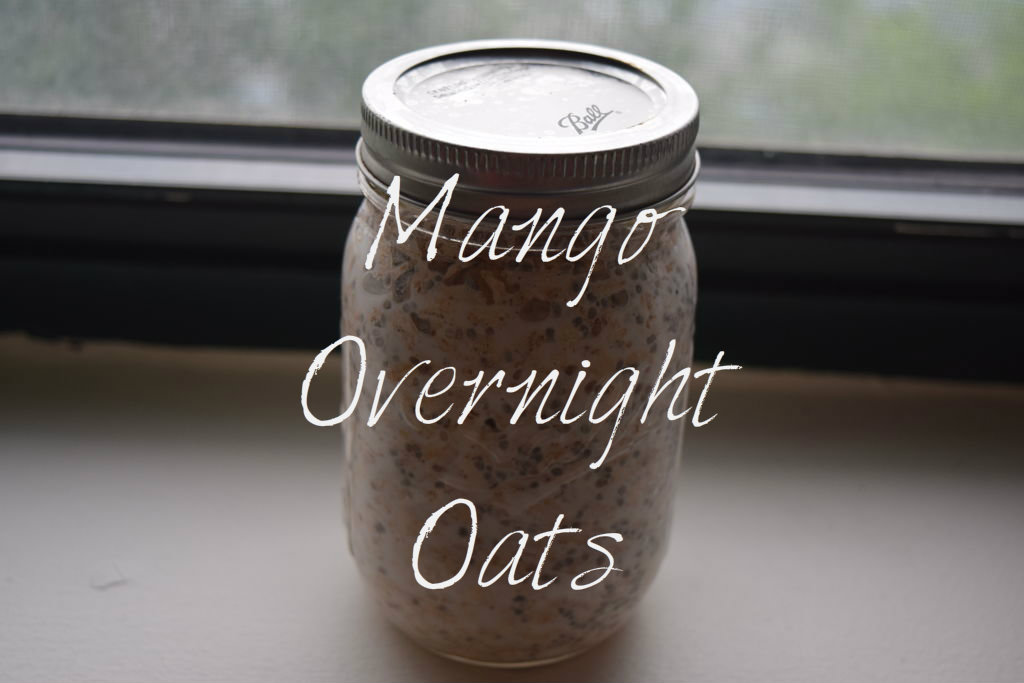 Picture of Delicious Mango Overnight Oats!