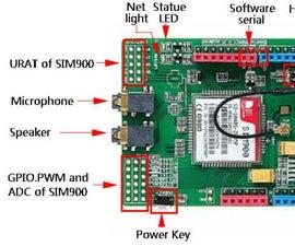 Arduino and SIM900 shield. User-friendly.