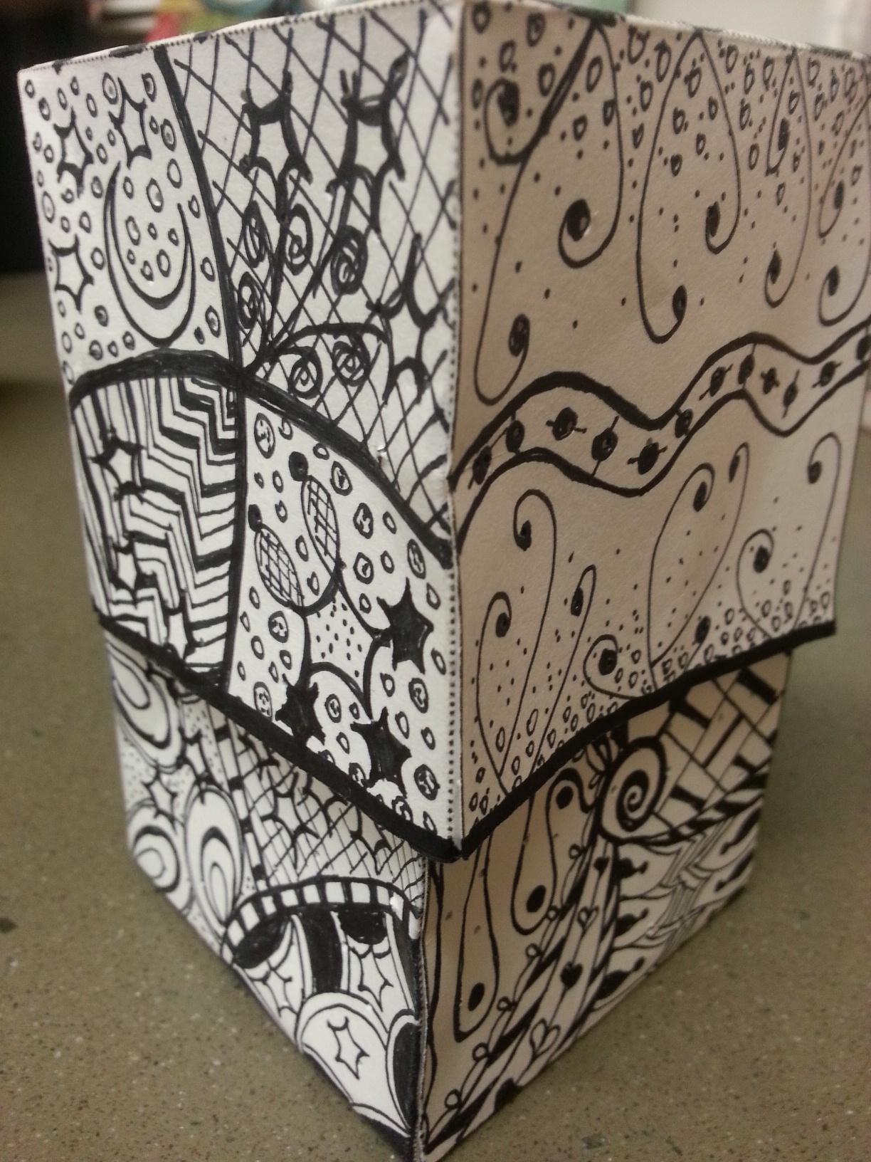 Picture of Zentangle Chibitronics Box