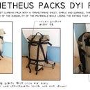 Climbing Backpack w/ Frame and pattern