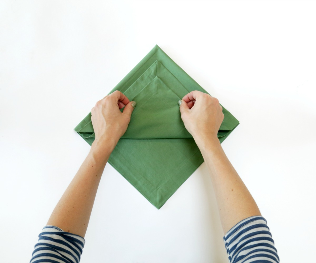Picture of Fold the Corners Up One at a Time