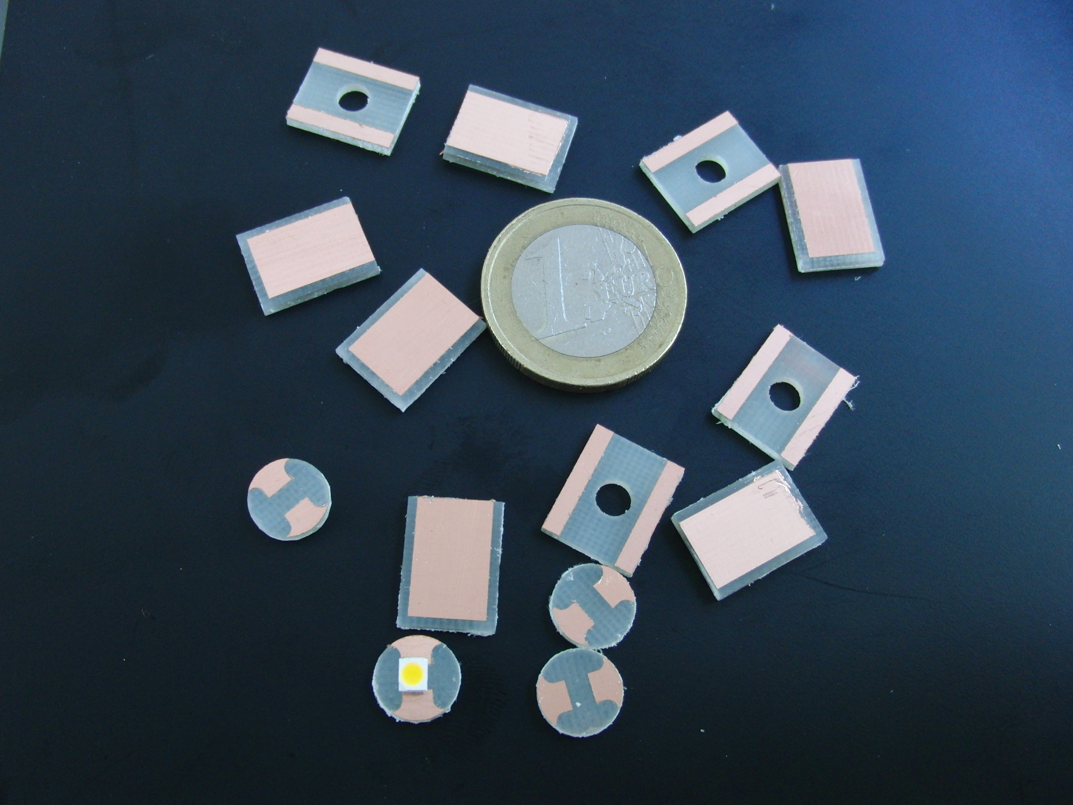 Picture of PCB Milling