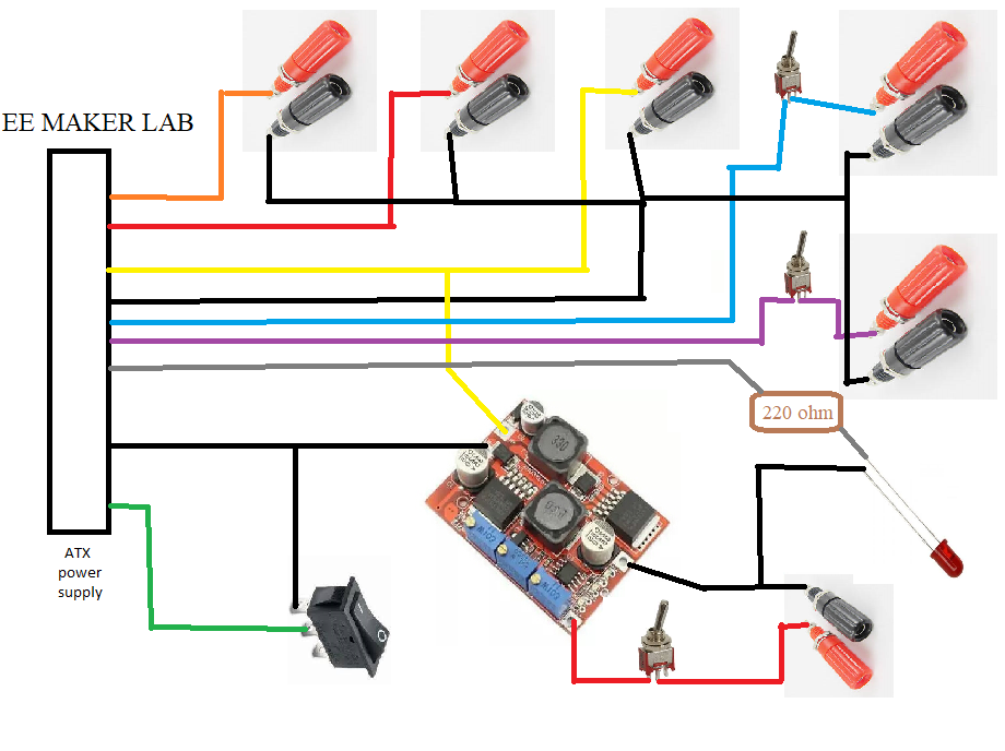 Picture of Diagram of Power Supply