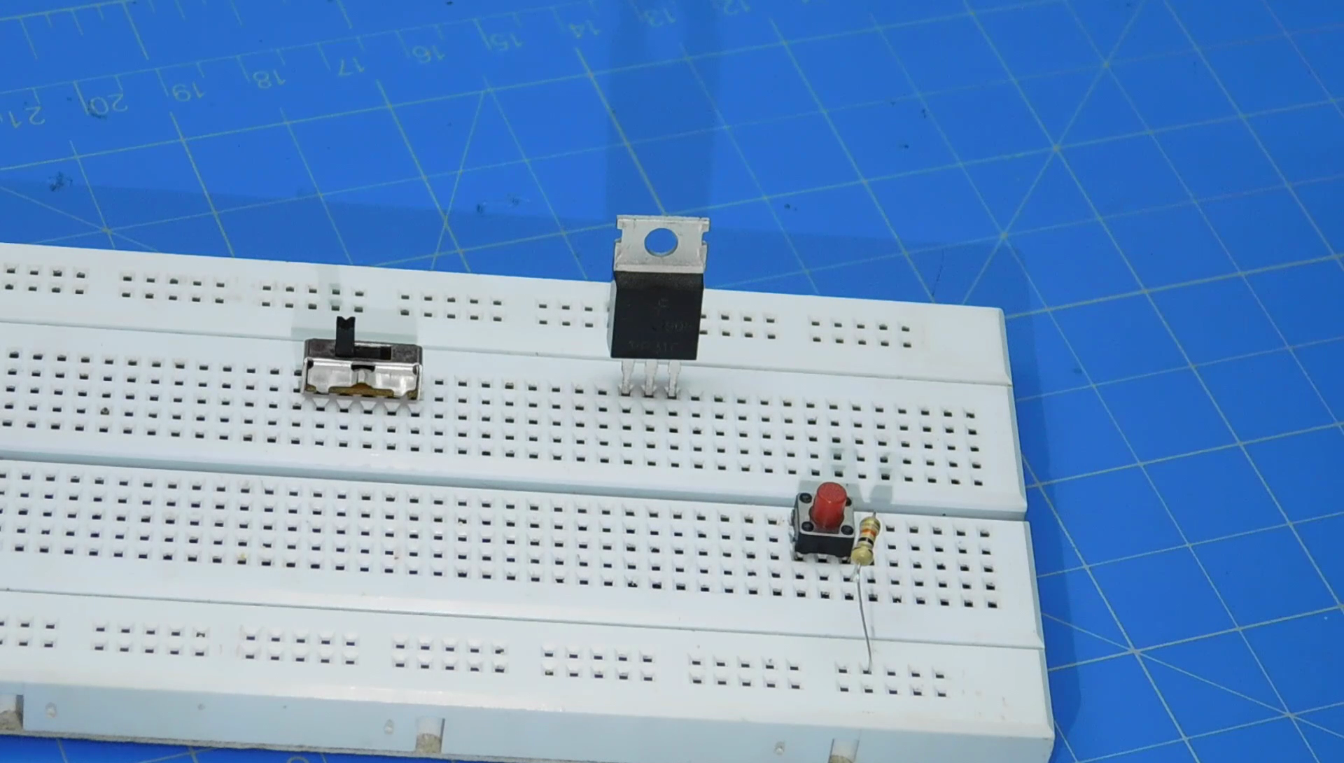 Picture of Prototyping the Circuit and Some Silly Mistakes