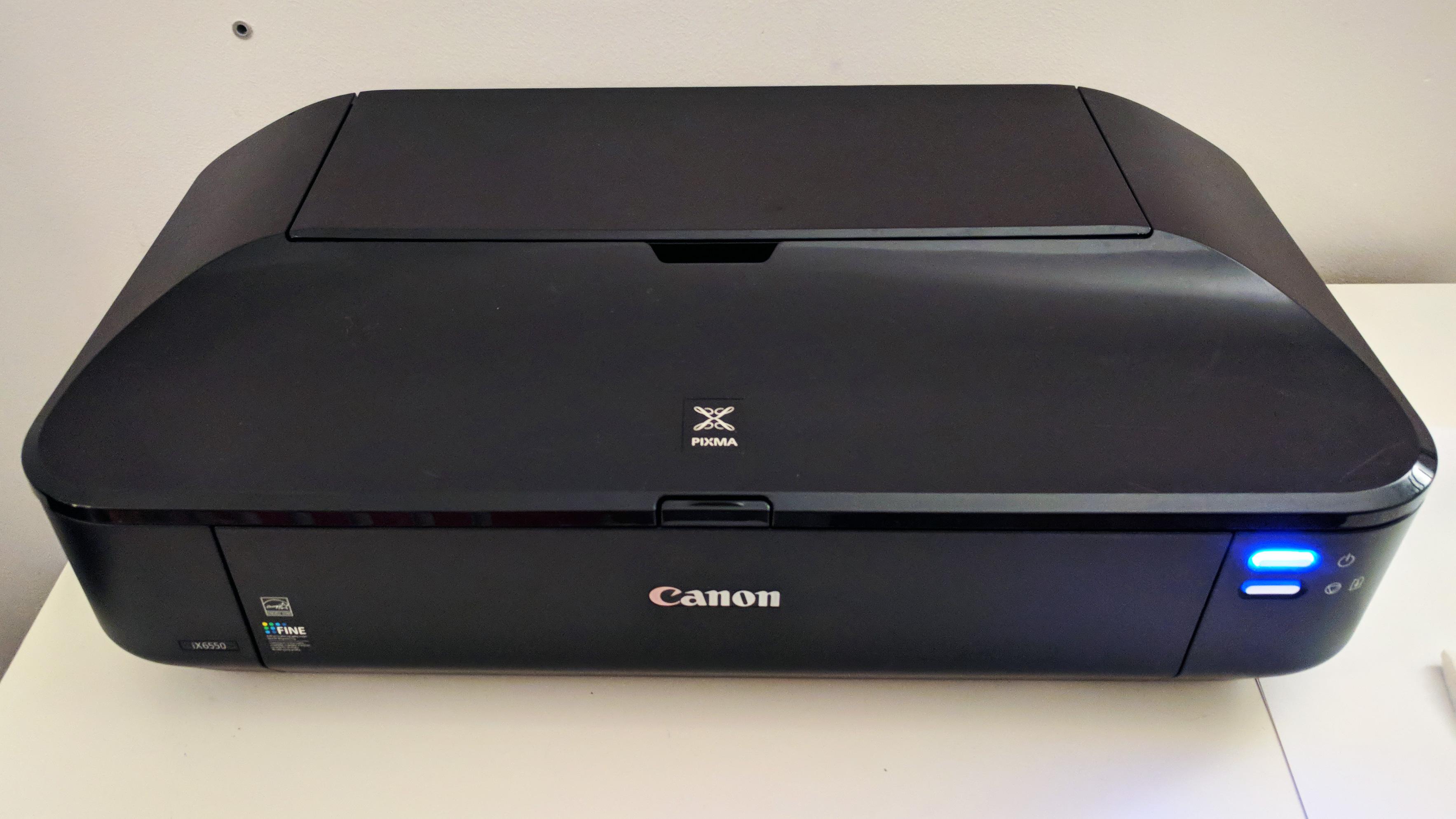Picture of Open and Clean Canon Pixma IX6550 Printer
