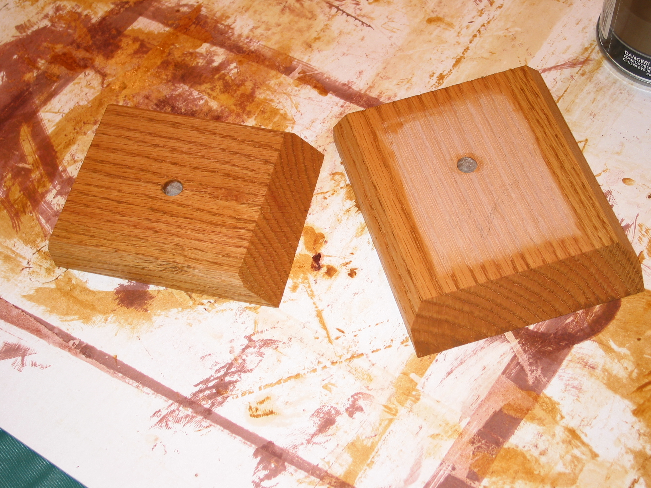Picture of Second - Build the Base (Cut, Drill, Sand, Glue, Stain & Finish)