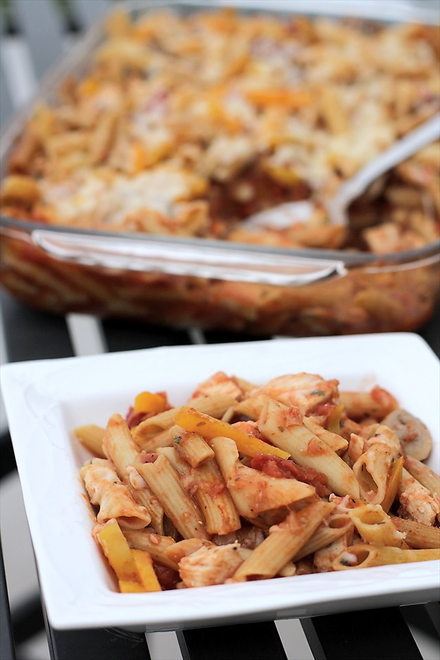 Picture of Chicken Cacciatore Bake