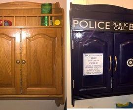 Dr. Who Rx Cabinet