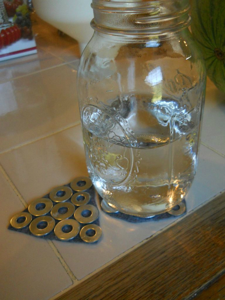 Picture of Stainless Steel Washer Coasters