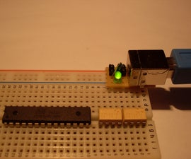 Power your breadboard with USB