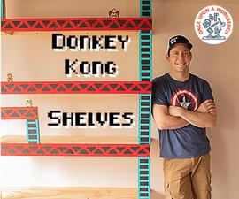Donkey Kong Garage Storage Shelves
