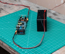 How to Make a 12V Battery Charger ( Programmable )