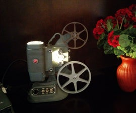 8mm Home Movie Projector Lamp