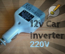 How to Make Portable 220v Solar Inverter Under 16$ !!!